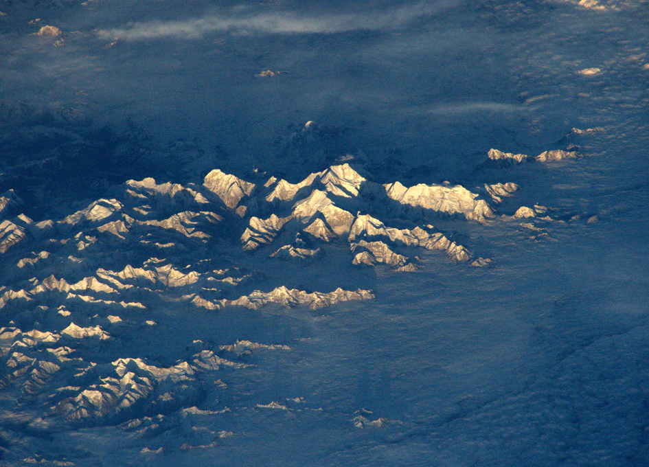 Mt. Everest Seen From The International Space Station