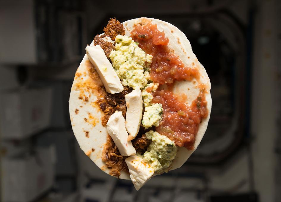 Breakfast Taco In Space