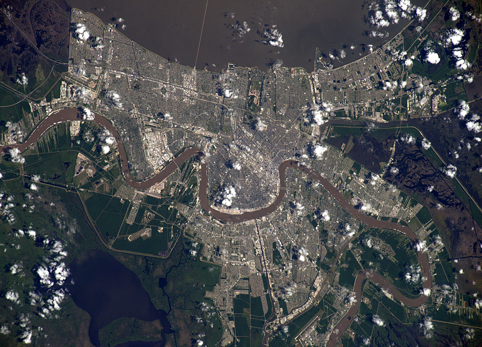 New Orleans As Viewed From The Space Station