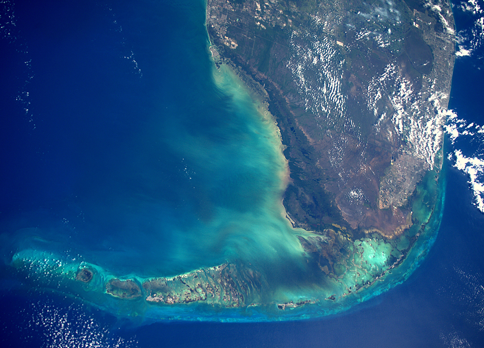 Florida Keys As Seen From Orbit - SpaceRef | 945 x 680 jpeg 733kB