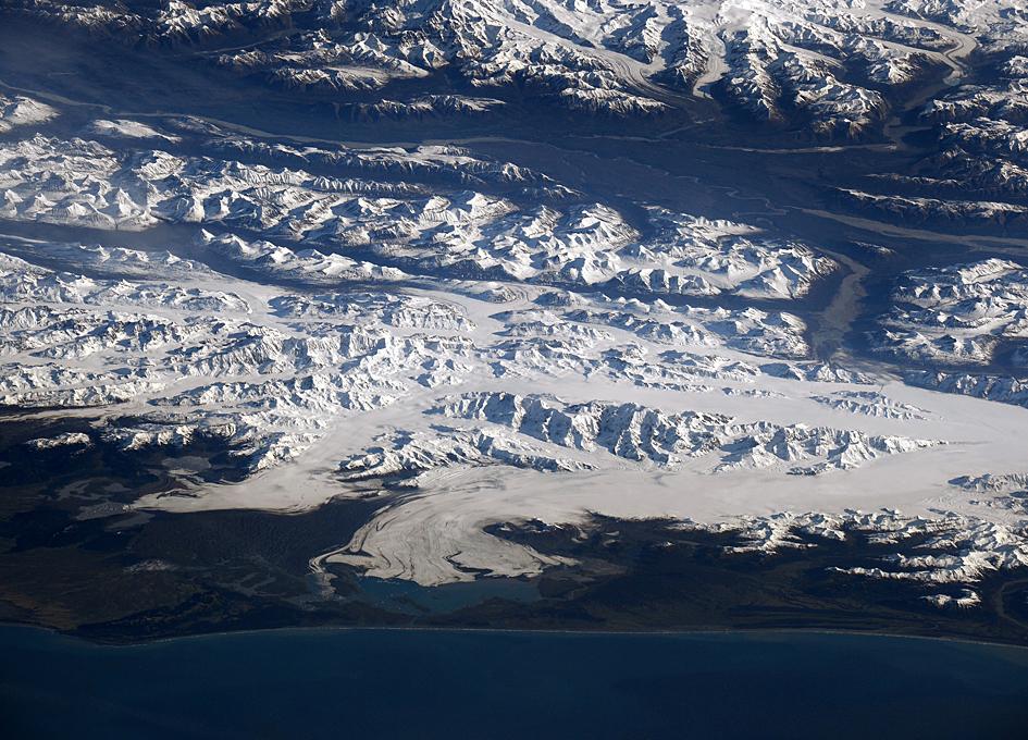 Alaska As Viewed By People Living In Orbit