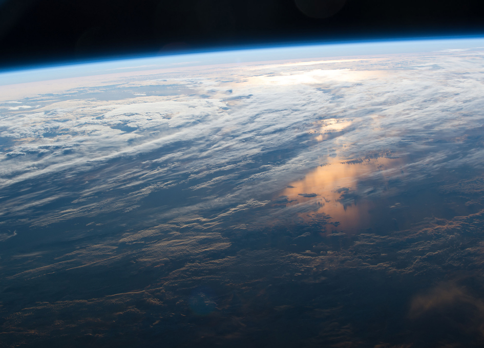 A New Day Dawns As Seen From Orbit