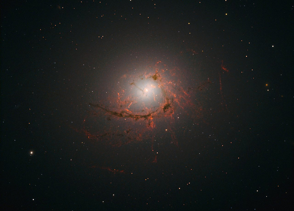 The Tangled Threads Of NGC 4696