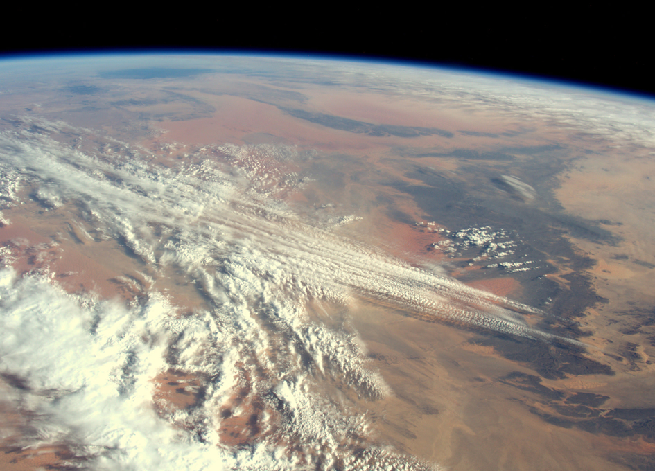 Orbital Perspective: Clouds Over The Sahara