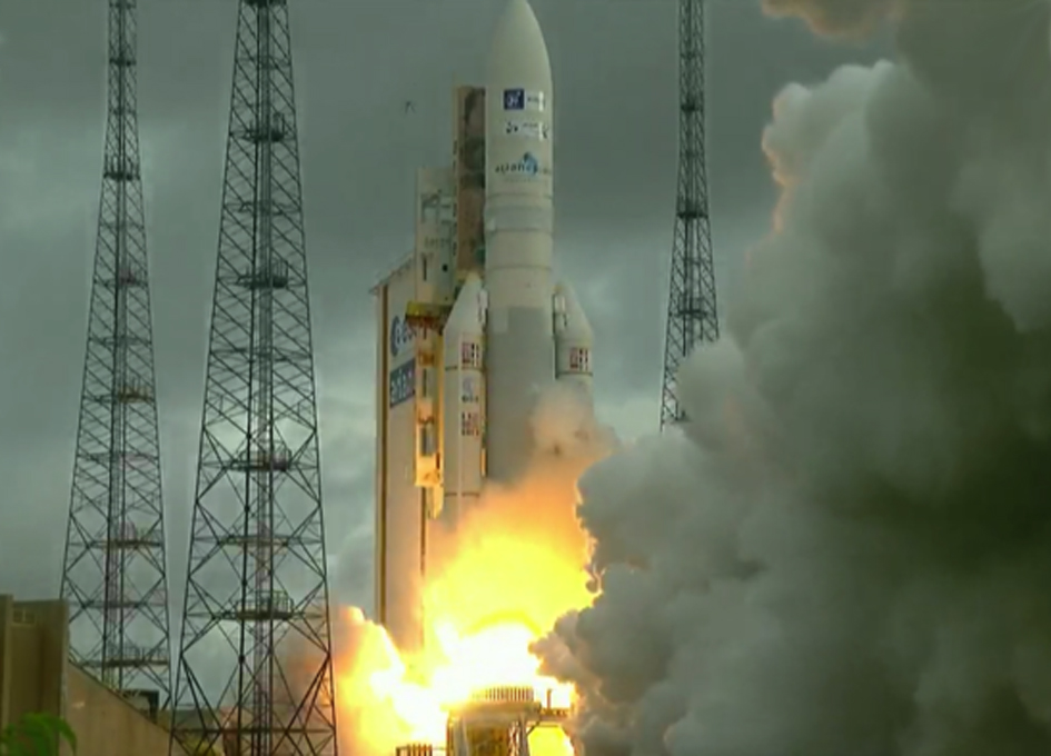 Arianespace Launches Star One-D1 and JCSat-15