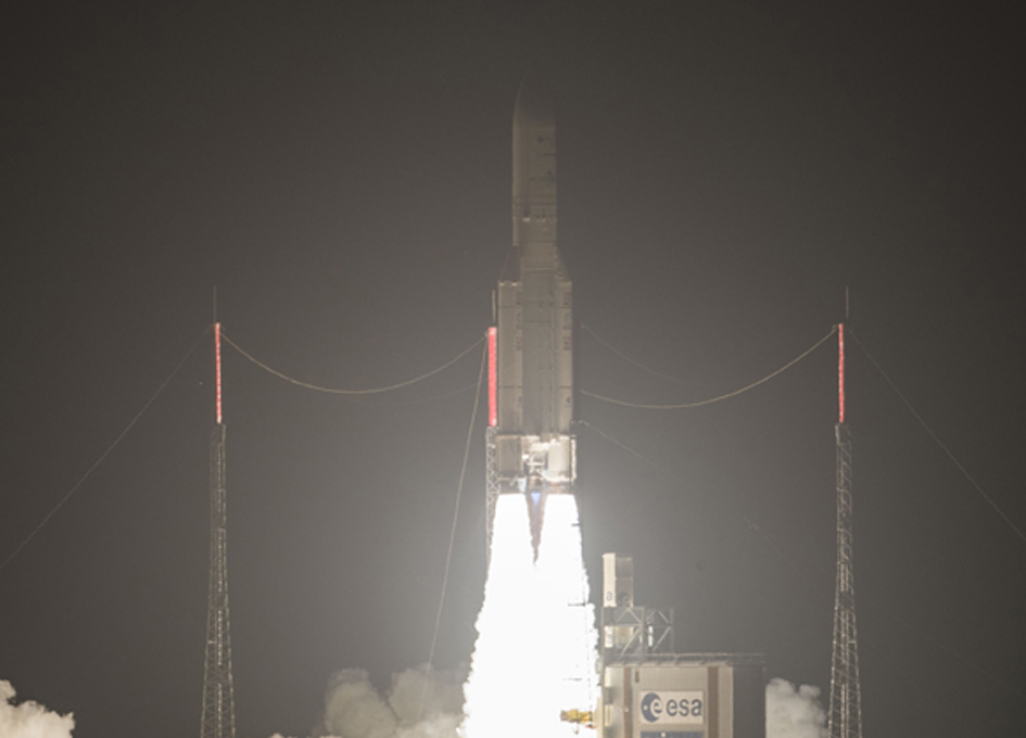 Ariane 5 Launches Intelsat 29e