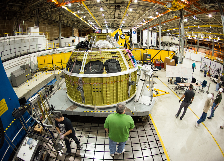 New and Improved Orion Crew Module Arrives at Kennedy Space Center