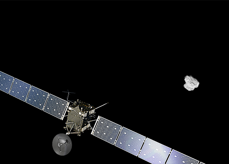 Video: Rosetta Mission Comes to an End and Science Highlights
