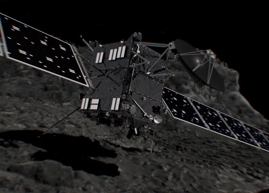 Rosetta Ends Its Mission By Slowly Crash Landing On A Comet