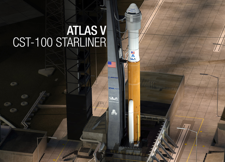 ULA and Boeing Unveil the Atlas V Configuration for CST-100 Starliner Crew Capsule