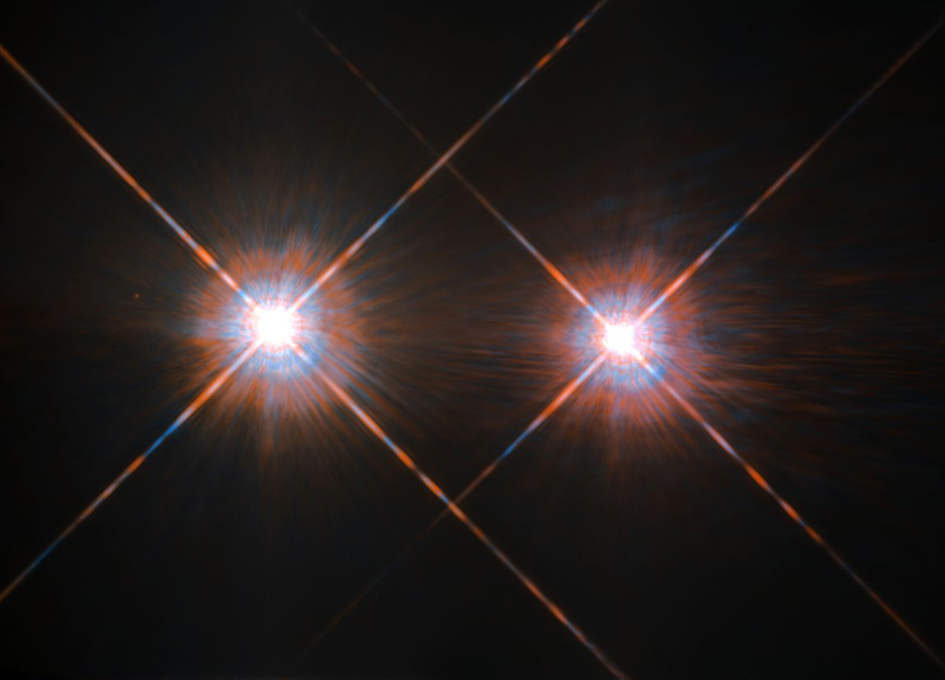 Hubble's Best Image of Alpha Centauri A and B - SpaceRef