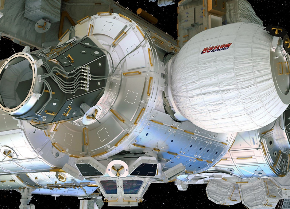 Commercial Expandable Habitat To Be Attached to ISS