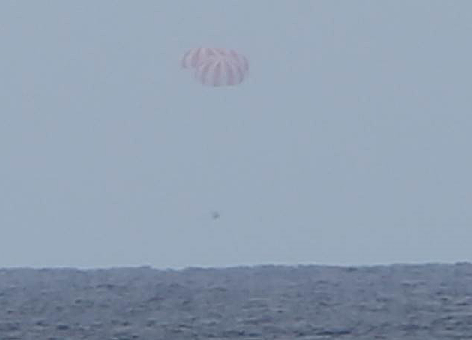 SpaceX Dragon Splashes Down with Crucial NASA Research Samples