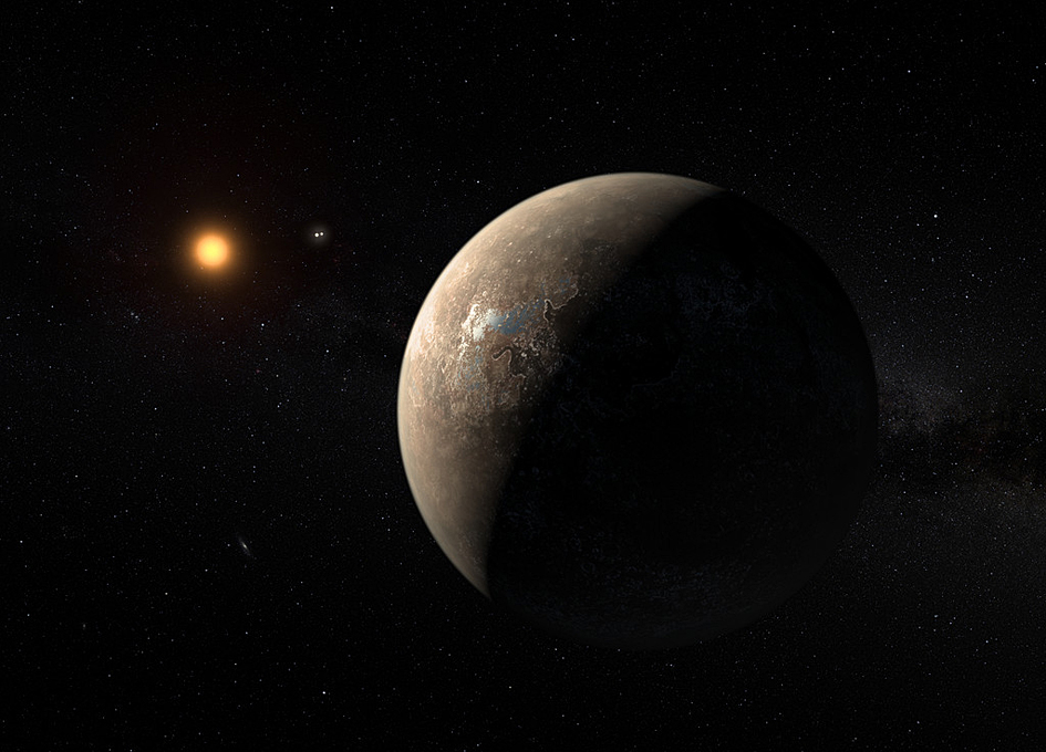 Earth-mass Planet Found In The Habitable Zone Of Proxima Centauri