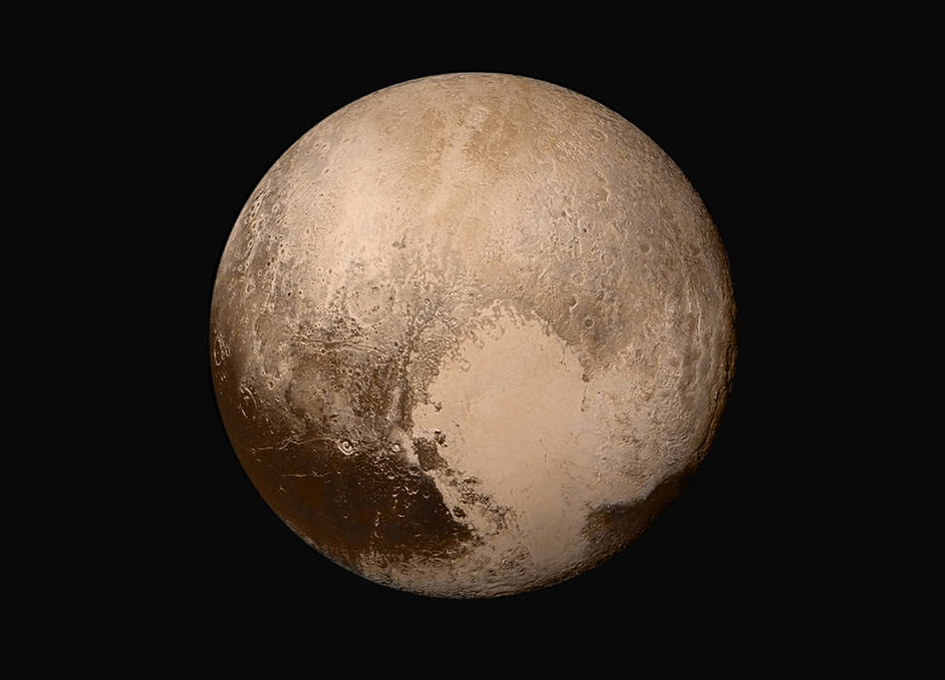 Pluto's Interaction with the Solar Wind is Unique