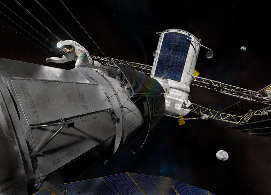 NextSTEP Partners Develop Deep Space Habitat Ground Prototypes