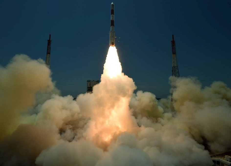PSLV-C33 Launches India's Seventh Navigation Satellite