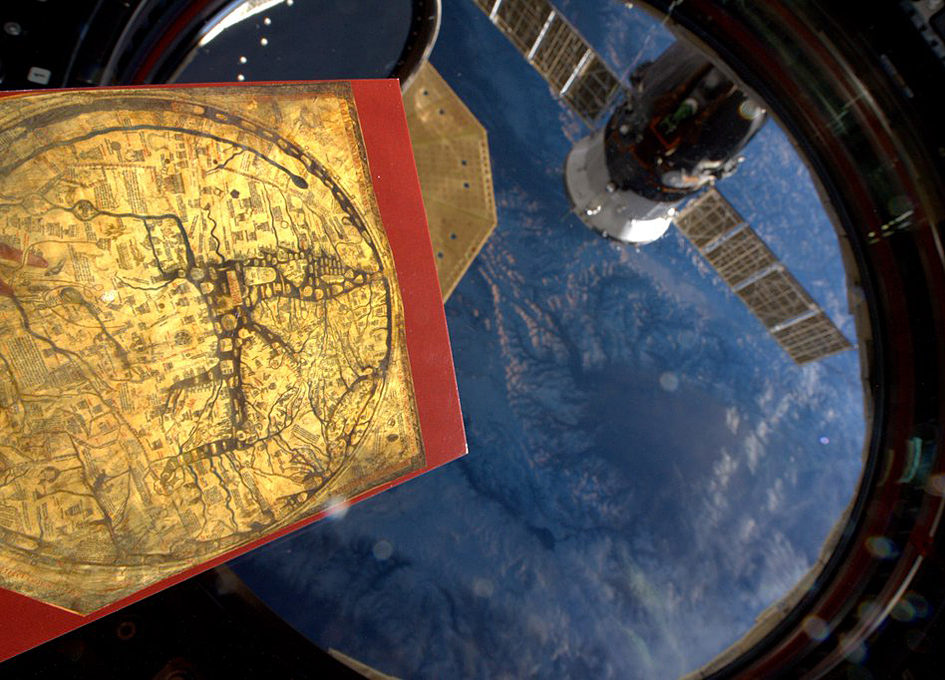 Studying Earth From Space Using An Ancient map