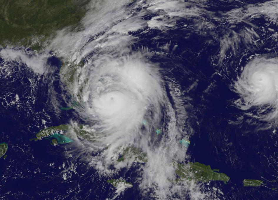 Satellite View As Hurricane Matthew Regains Category Status - Satellite view