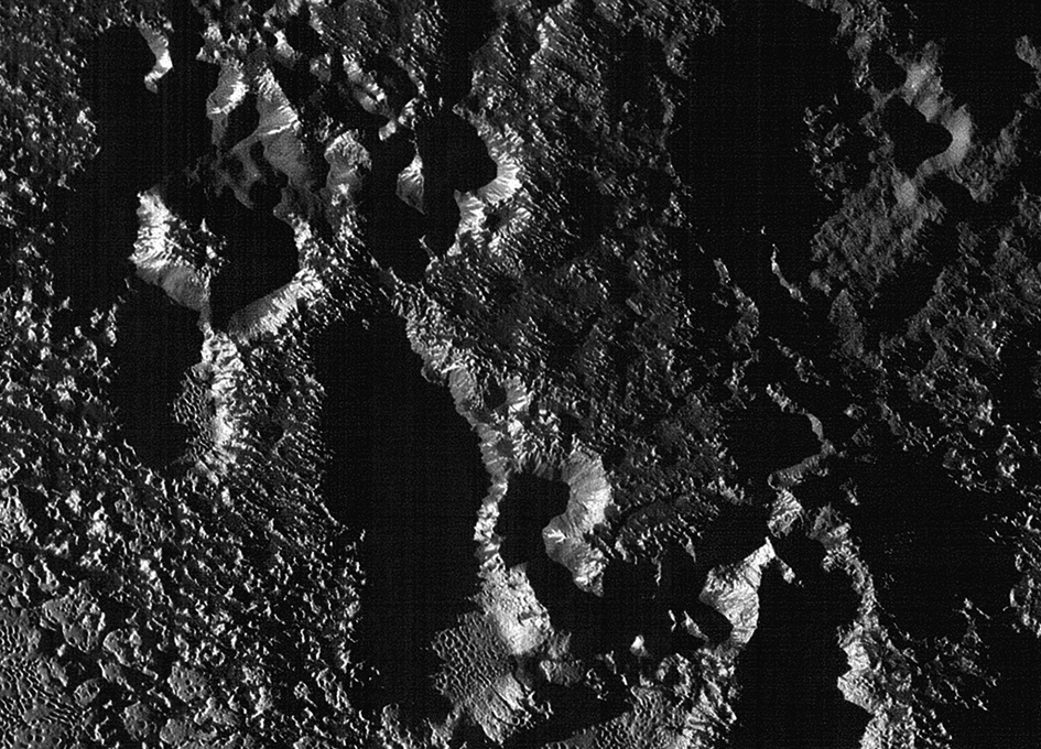 New Close-Up View of Pluto's Surface
