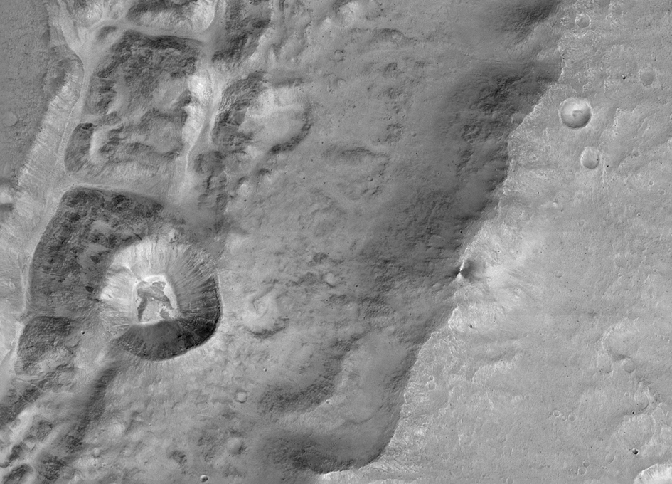 CaSSIS Sends First Images From Mars Orbit