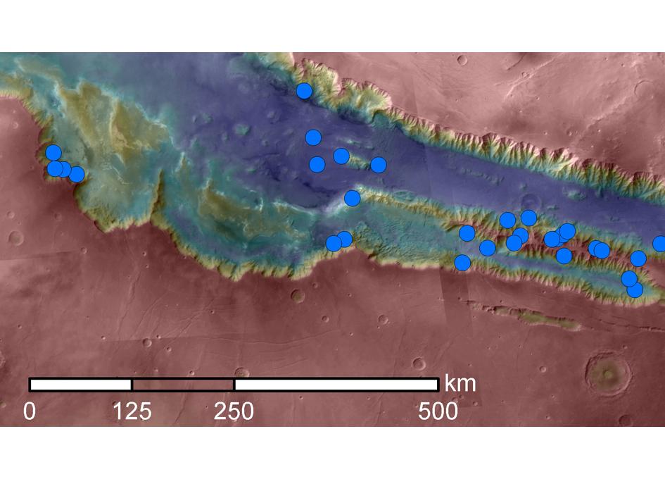 Water Not Found At Location Of Mars' Seasonal Streaks