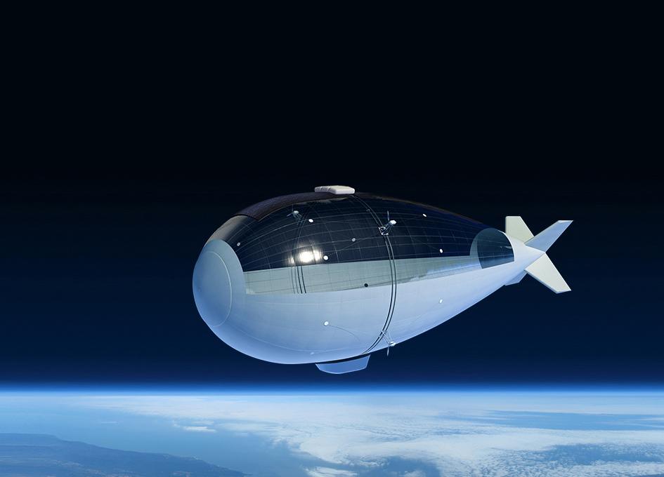 Thales Alenia Space Initiates Stratobus Project