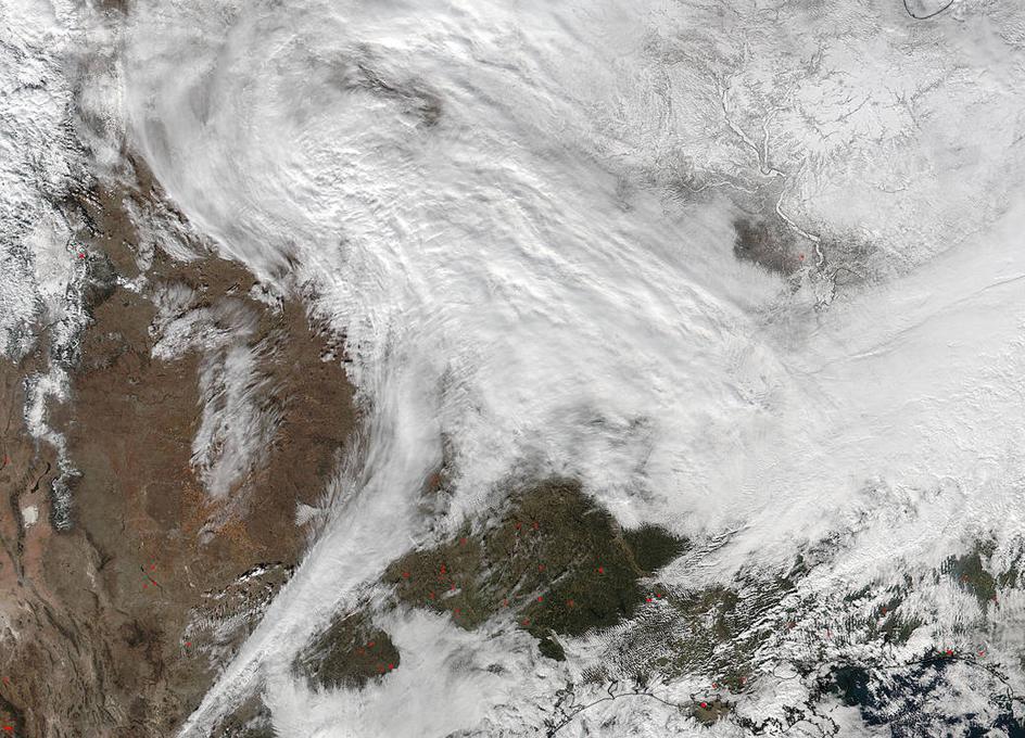 Winter Storm Mars Long Island