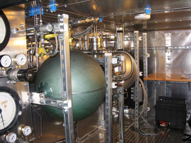 Rocket Engine Test Infrastructure Developed by Adam Trumpour.