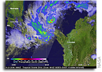Tropical Storm Otto Threatens Central America