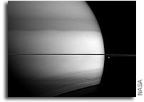 Viewing Methane On Saturn