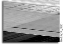 Saturn's Criss-Crossed Rings