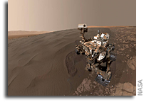 Self Portrait at Bagnold Dune Field on Mars