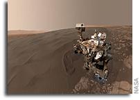Self Portrait at Bagnold Dune Field on Mars