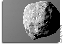 Epimetheus As Seen By Cassini