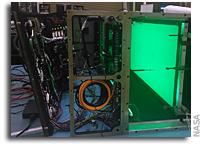 NASA Ignites Fire Experiment Aboard Space Cargo Ship