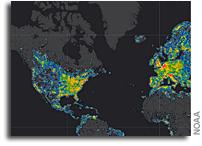World Atlas of Artificial Sky Brightness