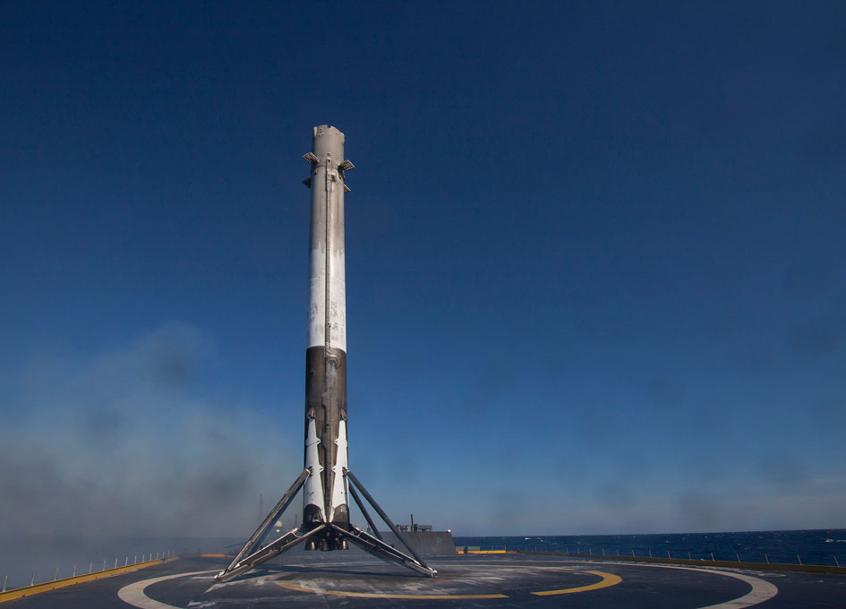 SpaceX Releases More Images of the Falcon 9 First Stage ...