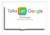 Talks at Google: The Physics of Star Trek