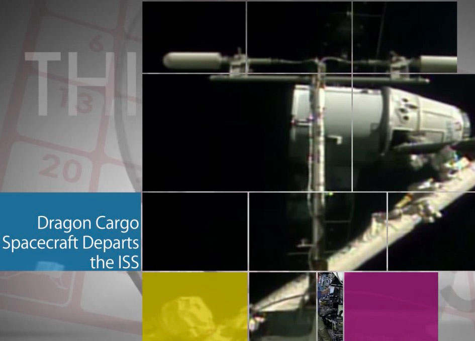 SpaceX Dragon capsule returns space station research materials to Earth