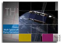 This Week at NASA: Closet Spacecraft Formation Flying, Mars and More