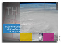 This Week at NASA: Hurricane Matthew, Maven Celebrates 1 Year at Mars and More