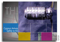 This Week at NASA: Cygnus Arrives at the Space Station and More