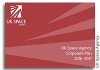 UK Space Agency Releases 2016-17 Corporate Plan and Space Eduction Strategy Paper
