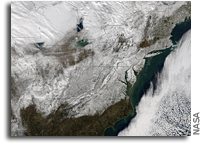 A Look at Post-Blizzard Snowfall and Winds