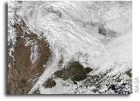 Major Winter Storm Headed For Eastern U.S.