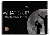 September 2016 Night Sky Viewing and More