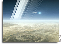 Cassini Becomes Part Of Saturn