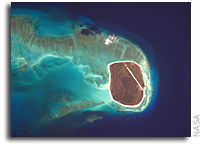 Glorioso Islands Seen From Orbit