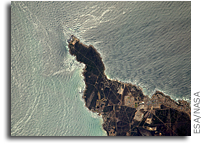 Cape of Good Hope Seen From Orbit
